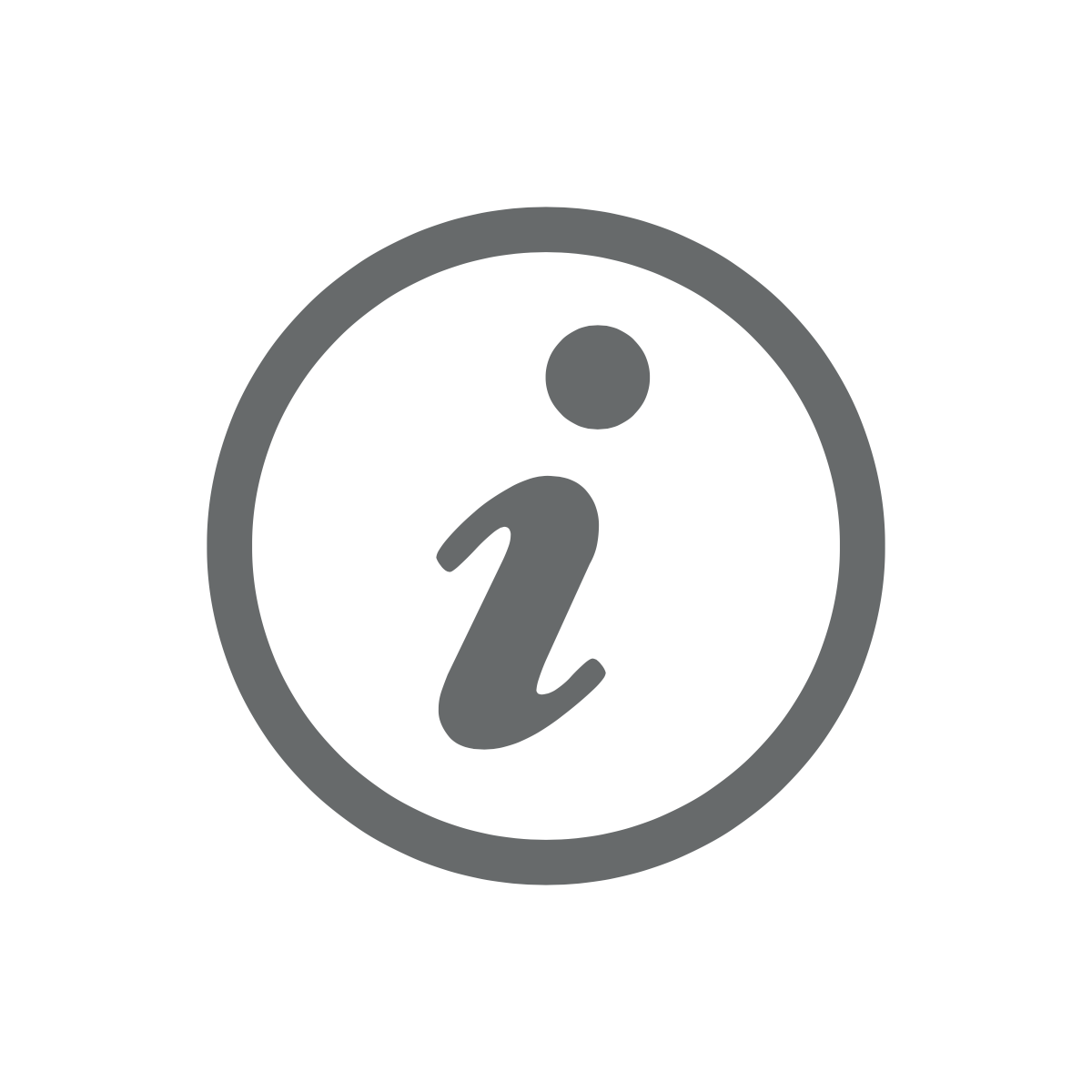 Informatie icoon