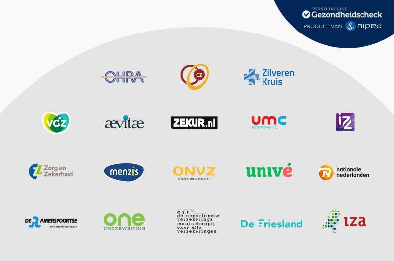 18 verzekeraars vergoeden (deels) ons Preventief Medisch Onderzoek (PMO)